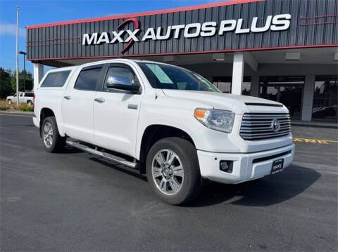 2017 Toyota Tundra for sale at Maxx Autos Plus in Puyallup WA