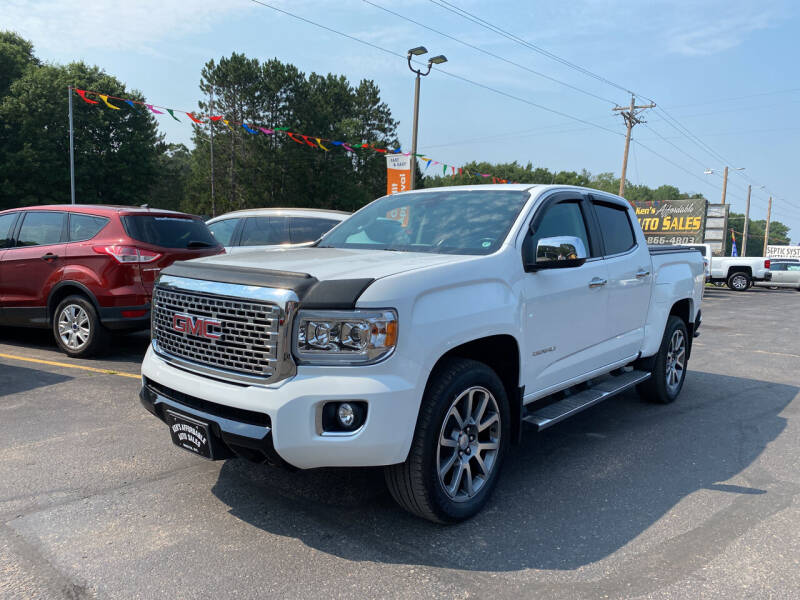 2018 GMC Canyon for sale at Affordable Auto Sales in Webster WI