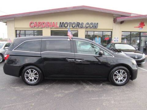 2012 Honda Odyssey for sale at Cardinal Motors in Fairfield OH