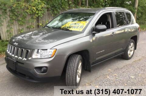 2012 Jeep Compass for sale at Pete Kitt's Automotive Sales & Service in Camillus NY