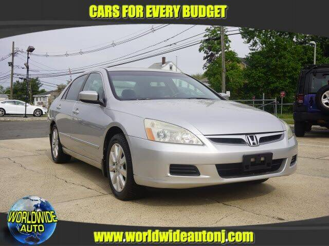 2006 Honda Accord for sale at Worldwide Auto in Hamilton NJ