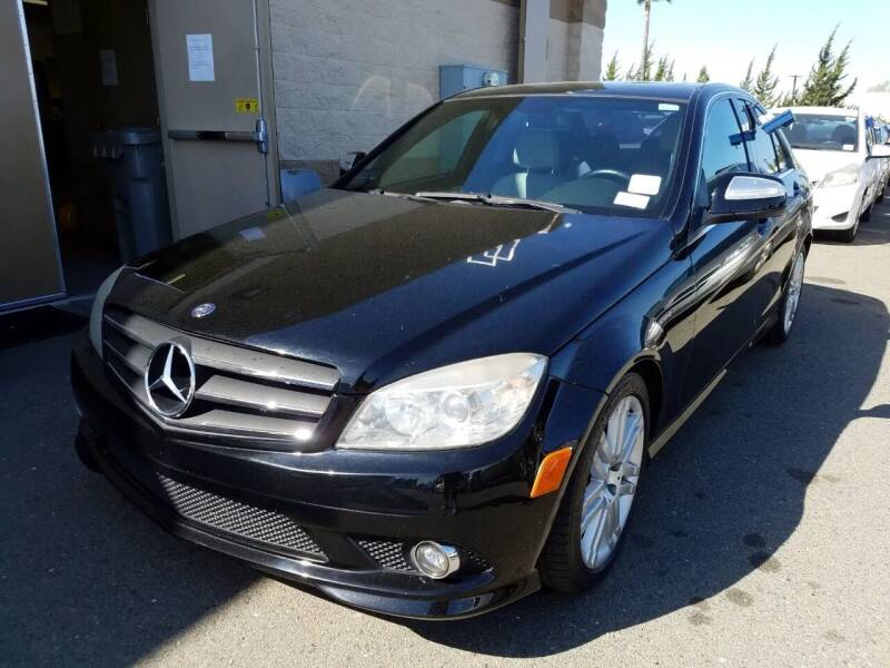 2009 Mercedes-Benz C-Class for sale at MCHENRY AUTO SALES in Modesto CA