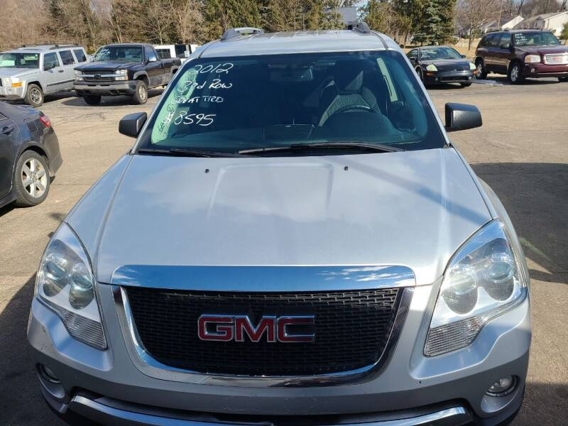 2012 GMC Acadia for sale at All State Auto Sales, INC in Kentwood MI