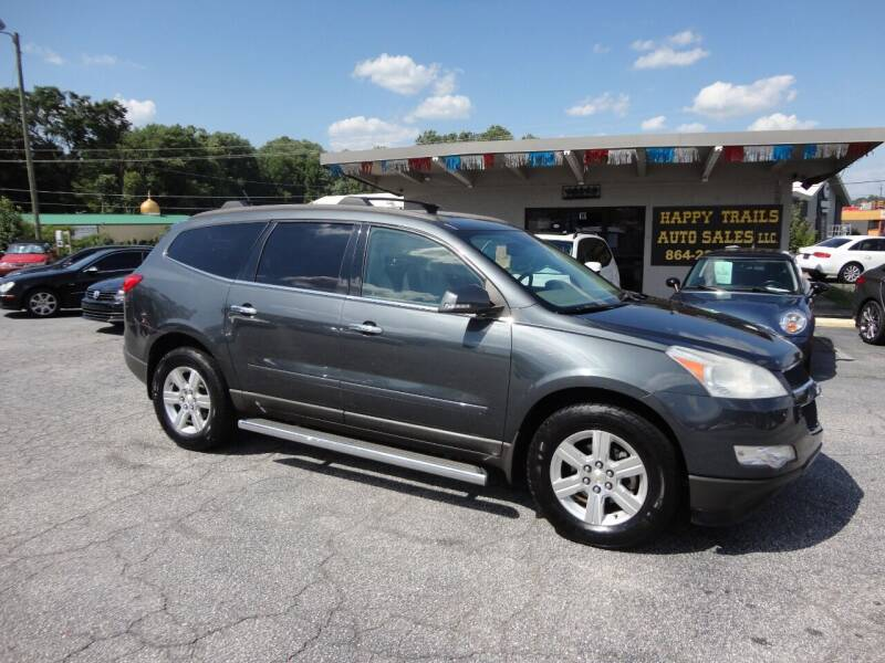 2011 Chevrolet Traverse for sale at HAPPY TRAILS AUTO SALES LLC in Taylors SC