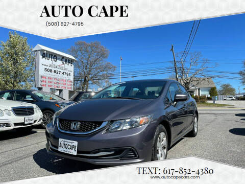 2014 Honda Civic for sale at Auto Cape in Hyannis MA