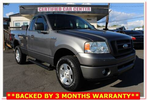 2006 Ford F-150 for sale at CERTIFIED CAR CENTER in Fairfax VA