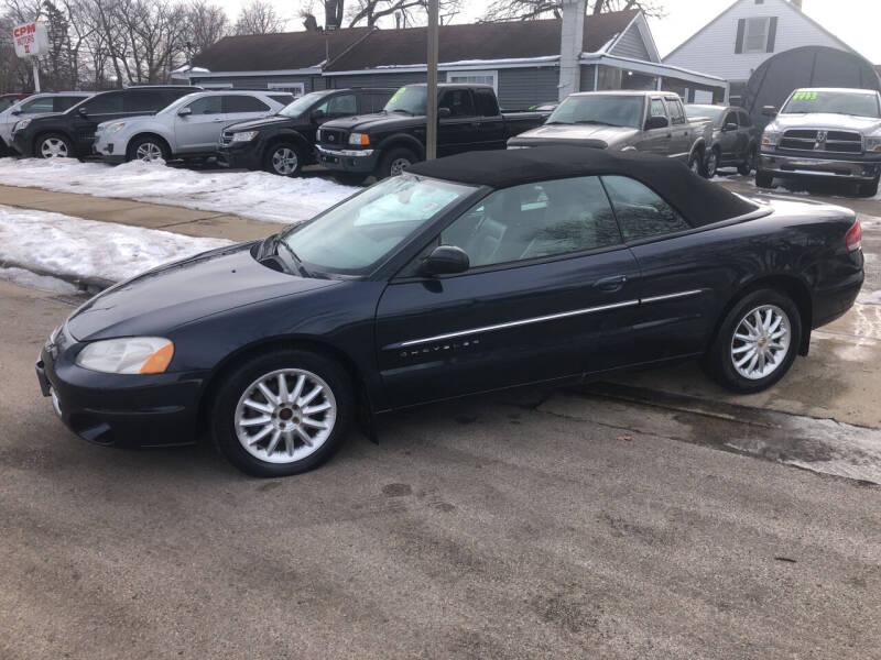 2001 Chrysler Sebring for sale at CPM Motors Inc in Elgin IL