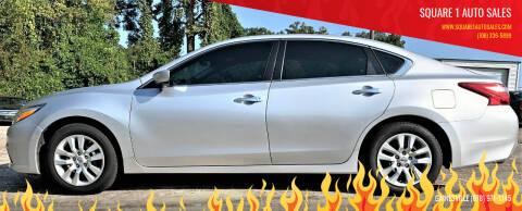 2016 Nissan Altima for sale at Square 1 Auto Sales in Commerce GA
