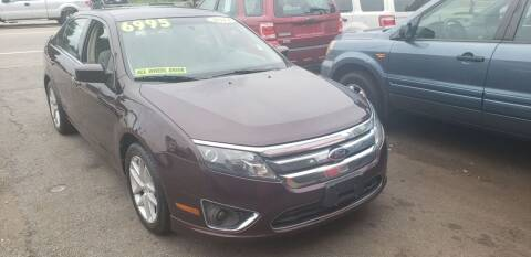 2011 Ford Fusion for sale at TC Auto Repair and Sales Inc in Abington MA
