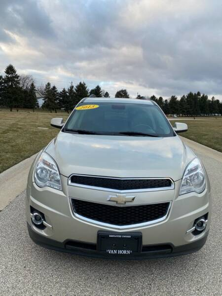 2013 Chevrolet Equinox for sale at Sphinx Auto Sales LLC in Milwaukee WI