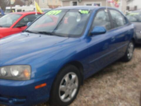 2006 Hyundai Elantra for sale at Flag Motors in Islip Terrace NY