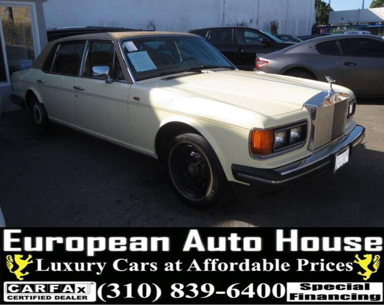 1987 Rolls-Royce Silver Spur for sale at European Auto House in Los Angeles CA