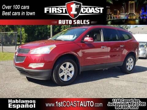 2012 Chevrolet Traverse for sale at 1st Coast Auto -Cassat Avenue in Jacksonville FL