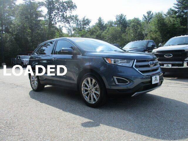 2018 Ford Edge for sale at MC FARLAND FORD in Exeter NH