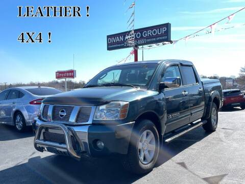 2005 Nissan Titan for sale at Divan Auto Group in Feasterville PA