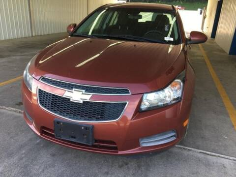 2012 Chevrolet Cruze for sale at Drive Today Auto Sales in Mount Sterling KY