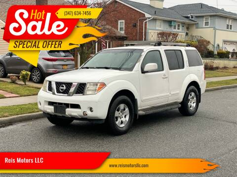 2005 Nissan Pathfinder for sale at Reis Motors LLC in Lawrence NY