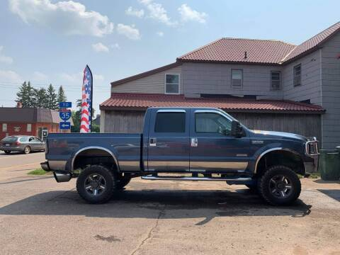 2006 Ford F-250 Super Duty for sale at WB Auto Sales LLC in Barnum MN