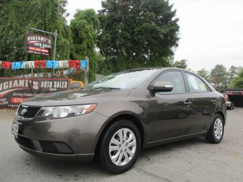 2010 Kia Forte for sale at Vigeants Auto Sales Inc in Lowell MA