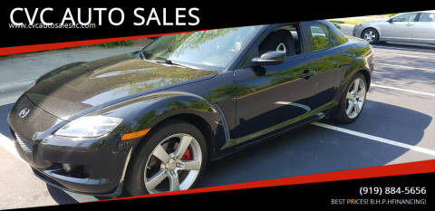2004 Mazda RX-8 for sale at CVC AUTO SALES in Durham NC