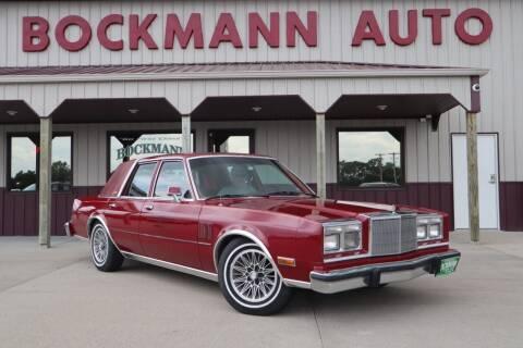 1987 Chrysler Fifth Avenue for sale at Bockmann Auto Sales in Saint Paul NE