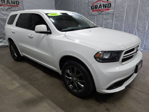 2018 Dodge Durango for sale at GRAND AUTO SALES in Grand Island NE