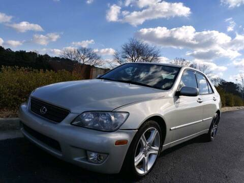 2004 Lexus IS 300 for sale at William D Auto Sales in Norcross GA