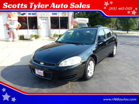 2007 Chevrolet Impala for sale at Scotts Tyler Auto Sales in Wilmington IL