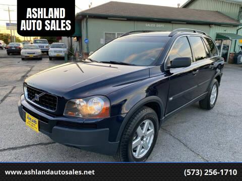 2006 Volvo XC90 for sale at ASHLAND AUTO SALES in Columbia MO