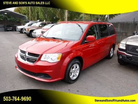 2012 Dodge Grand Caravan for sale at Steve & Sons Auto Sales in Happy Valley OR