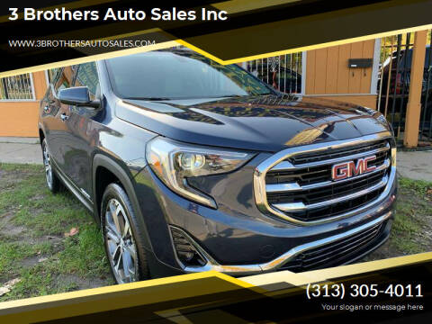 2019 GMC Terrain for sale at 3 Brothers Auto Sales Inc in Detroit MI