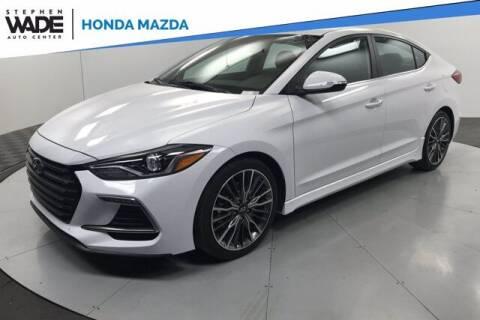 2018 Hyundai Elantra for sale at Stephen Wade Pre-Owned Supercenter in Saint George UT