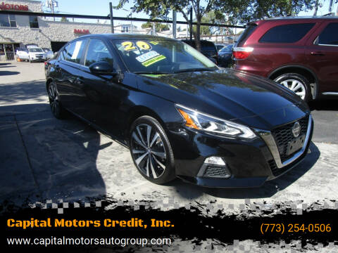 2020 Nissan Altima for sale at Capital Motors Credit, Inc. in Chicago IL