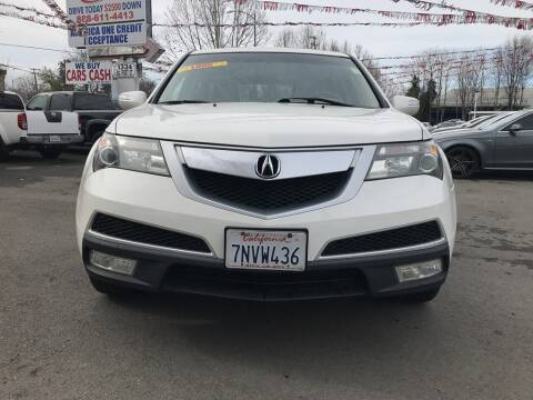 2011 Acura MDX for sale at EXPRESS CREDIT MOTORS in San Jose CA