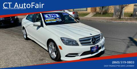 2011 Mercedes-Benz C-Class for sale at CT AutoFair in West Hartford CT
