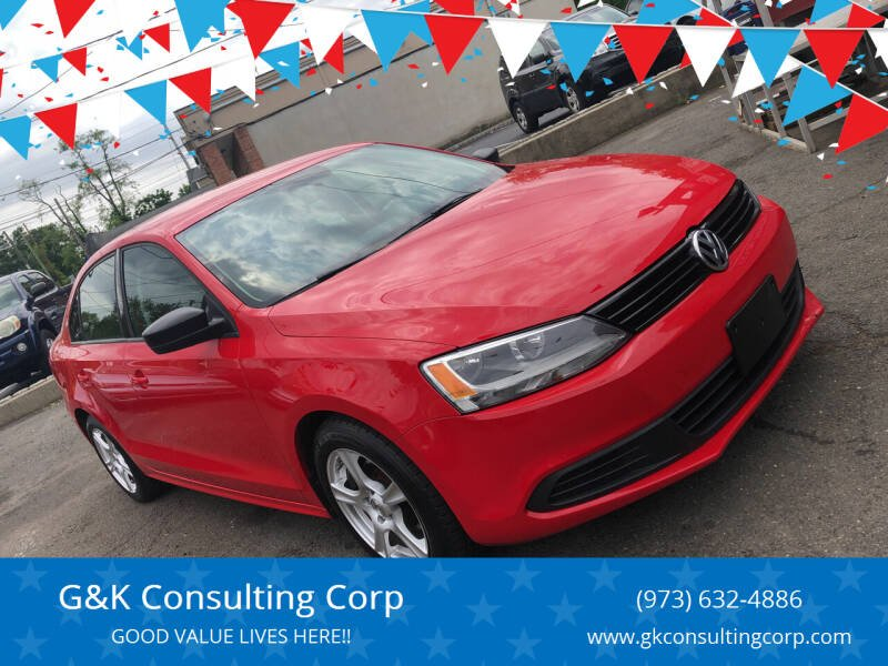 2012 Volkswagen Jetta for sale at G&K Consulting Corp in Fair Lawn NJ