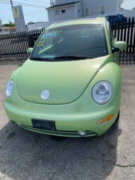 2003 Volkswagen New Beetle for sale at Bob Luongo's Auto Sales in Fall River MA