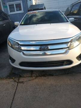 2010 Ford Fusion for sale at K J AUTO SALES in Philadelphia PA