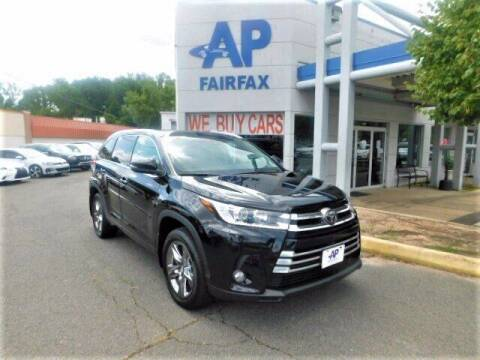 2017 Toyota Highlander for sale at AP Fairfax in Fairfax VA