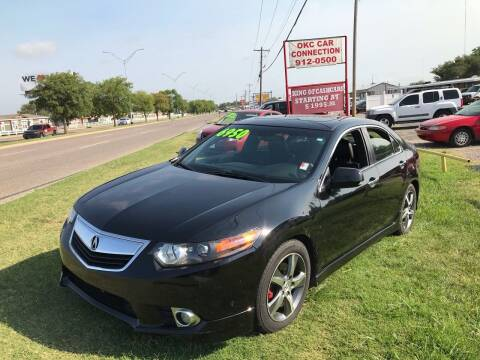 2012 Acura TSX for sale at OKC CAR CONNECTION in Oklahoma City OK