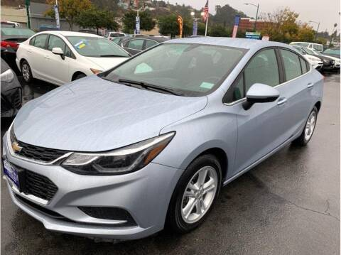 2018 Chevrolet Cruze for sale at AutoDeals in Hayward CA