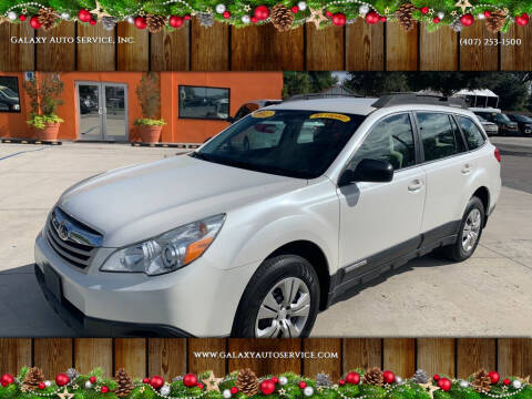 2012 Subaru Outback for sale at Galaxy Auto Service, Inc. in Orlando FL