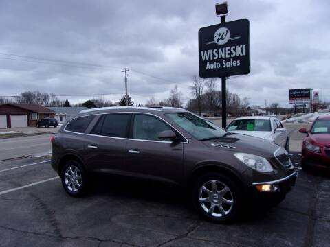 2008 Buick Enclave for sale at Wisneski Auto Sales, Inc. in Green Bay WI