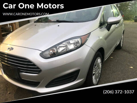 2016 Ford Fiesta for sale at Car One Motors in Seattle WA