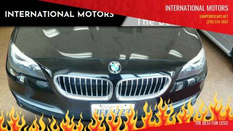 2014 BMW 5 Series for sale at International Motors in San Pedro CA