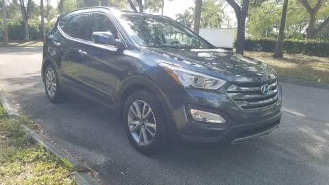 2014 Hyundai Santa Fe Sport for sale at DELRAY AUTO MALL in Delray Beach FL