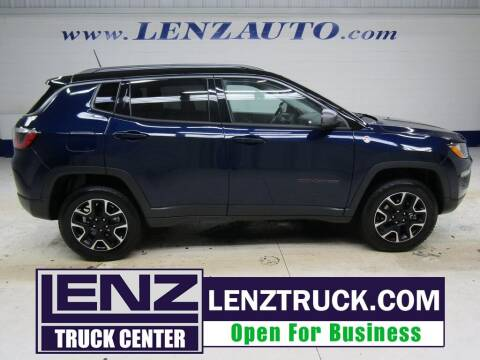 2020 Jeep Compass for sale at LENZ TRUCK CENTER in Fond Du Lac WI