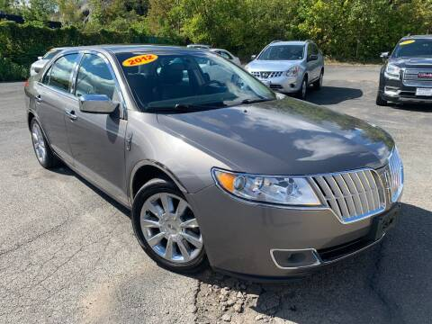2012 Lincoln MKZ for sale at Bob Karl's Sales & Service in Troy NY