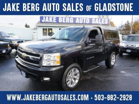 2010 Chevrolet Silverado 1500 for sale at Jake Berg Auto Sales in Gladstone OR