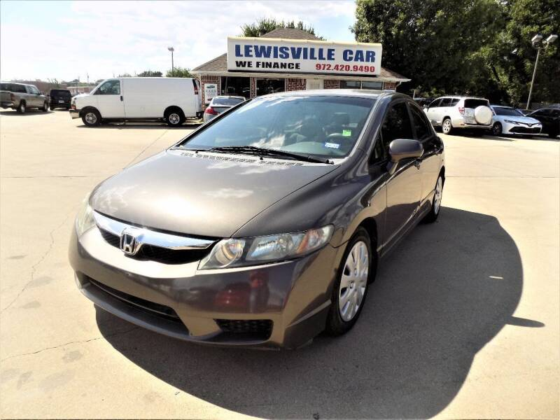 2010 Honda Civic for sale at Lewisville Car in Lewisville TX